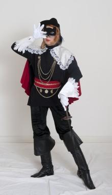 Gestiefelter Musketier